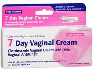 antifungal cream for yeast infection