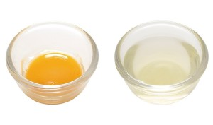 egg whites vs yolk